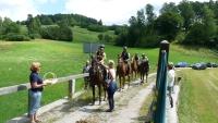 Otevření nové stezky na česko-rakouské hranici v Cetvinách 01